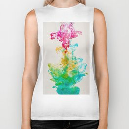 Pink, Gold, Teal, and Green I Biker Tank