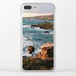 Montaña De Oro State Park Clear iPhone Case