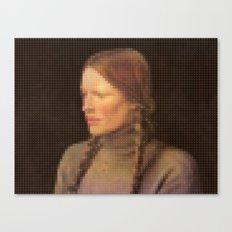 Lego: Helga Canvas Print