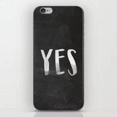 YES Chalkboard iPhone & iPod Skin