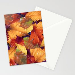 Fallen leaves I Stationery Cards