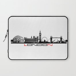 London skyline city #london Laptop Sleeve