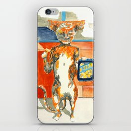 Hammerhead Cat iPhone Skin