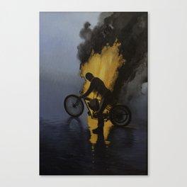 Hombre de Fuego In memory of George Brough George Cohen and Bert LeVac Canvas Print