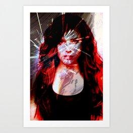 Celebrity Row - Sophia Art Print