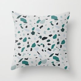 My Youth - Terrazzo Pattern Throw Pillow
