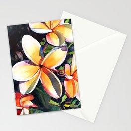 Kauai Rainbow Plumeria Stationery Cards
