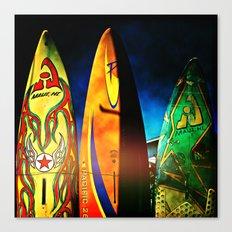 Tough Surf Canvas Print