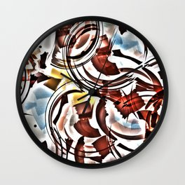 Coffe & Jazz Wall Clock