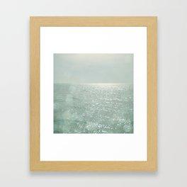 The Silver Sea Framed Art Print