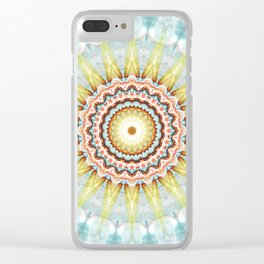 Mandala wintersun Clear iPhone Case