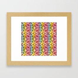 Ornament Tile Framed Art Print