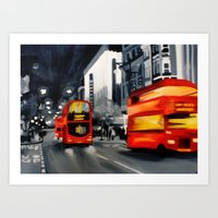Oxford Street Art Print