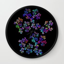little flowers Wall Clock