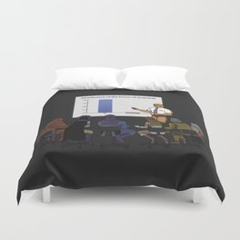 I HAVE THE POWERPOINT! Duvet Cover
