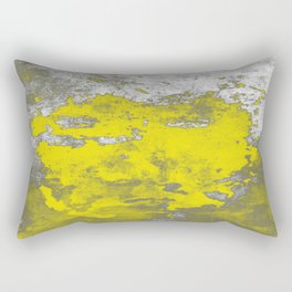 Yellow Burumph Rectangular Pillow