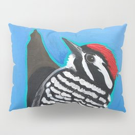 Ladder-Backed Woodpecker Pillow Sham