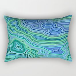 incessant flourescent Rectangular Pillow
