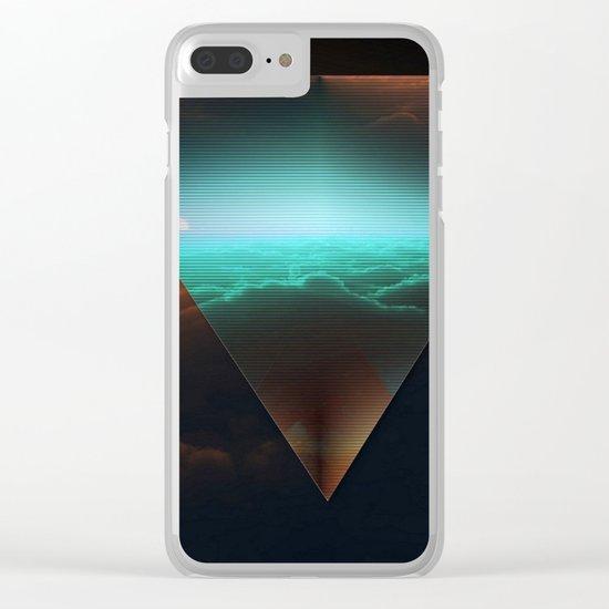 A.I Space Clear iPhone Case