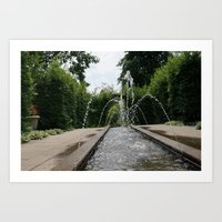Stop! Water Time! Art Print