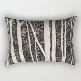 Forest Faces  Rectangular Pillow