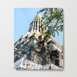 Ang Duong Stupa Metal Print