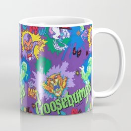 Goosebumps 90's Pattern Coffee Mug