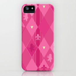 Pink Lily Bears iPhone Case