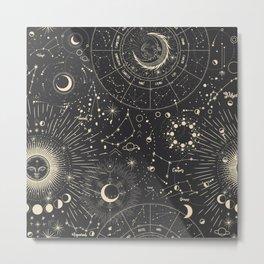Mystic patterns Metal Print