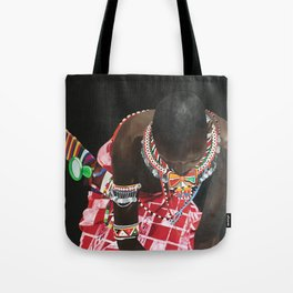 African Potrait I Tote Bag