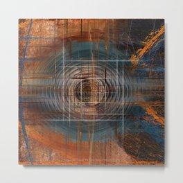 Unoccupied Digital Landscape Metal Print