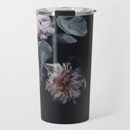 Vintage Floating Florals Travel Mug