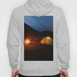 Camping Under a Midnight Sun Hoody