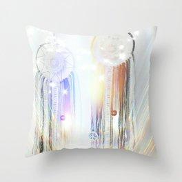 Glittery Dreams  Throw Pillow