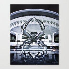 Space Crab Canvas Print