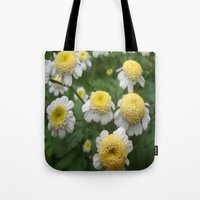 daisies Tote Bags featuring Daisies by Vitta