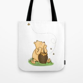 Classic Pooh with Honey - No background Tote Bag