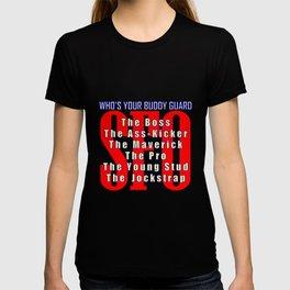 SFO Who's Your Buddy Guard T-shirt
