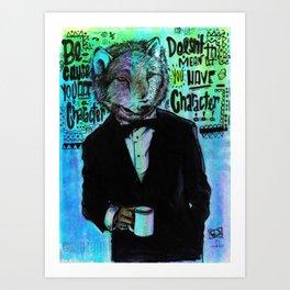 The Wolfe Art Print