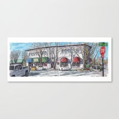 2nd Street, Davis Canvas Print