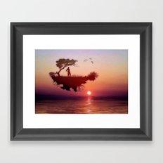 LANDSCAPE - Solitary sister Framed Art Print