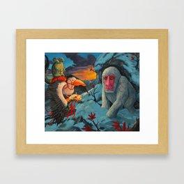 Take Care of your Elders Framed Art Print