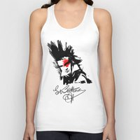 beethoven Tank Tops featuring Beethoven Punk by viva la revolucion