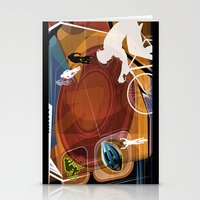 cycling Stationery Cards featuring Cycling by Robin Curtiss