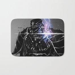 Enchanted Black Armor Bath Mat
