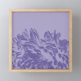 Dusty Purple Positive Negative Framed Mini Art Print