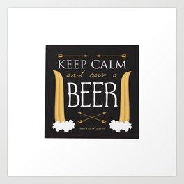 Have A Beer Art Print