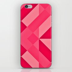 Shades of Pink abstract iPhone & iPod Skin