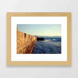 Acre Wall Framed Art Print