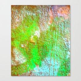 Lime Blue Vandal Canvas Print